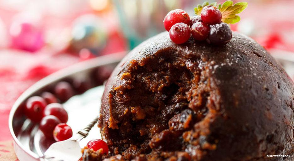 Traditional christmas pudding kitchen six for Xmas pudding